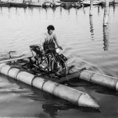 Mit dem Wassermotorrad über den Bodensee