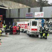 Fehlalarm führt zu Großeinsatz in Brennerbasistunnel