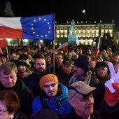 Historisches Verfahren der EU gegen Polen