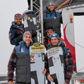Snowboardasse nehmen so richtig Fahrt auf