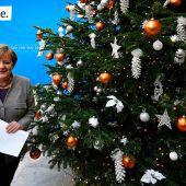 Merkel besteht auf GroKo