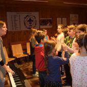Musikalisches Camp für Kinder