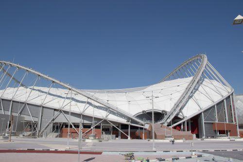Die Vorbereitungen auf die WM 2022 in Katar laufen. Im Bild das Khalifa International Stadium.Hepberger