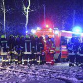 Drei Tote bei Absturz eines Business-Jets bei Ravensburg