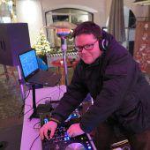 DJ-Sound beim Christkindlemarkt