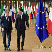 Sebastian Kurz auf proeuropäischer Mission