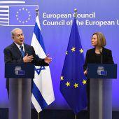 Netanjahu fordert von der  EU die Anerkennung Jerusalems