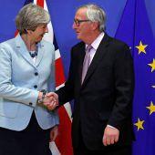 Brexit-Gespräche starten in die Phase zwei