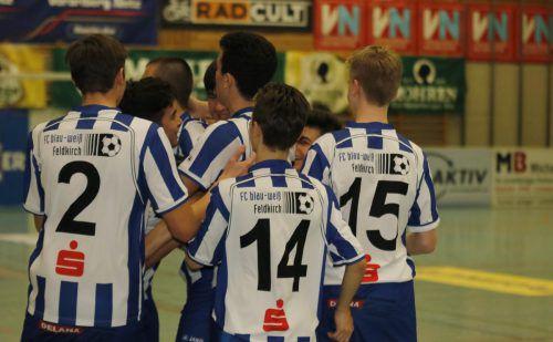 Feldkirchs U-18-Spieler sind heute beim Turnier in Wolfurt im Einsatz.Knobel