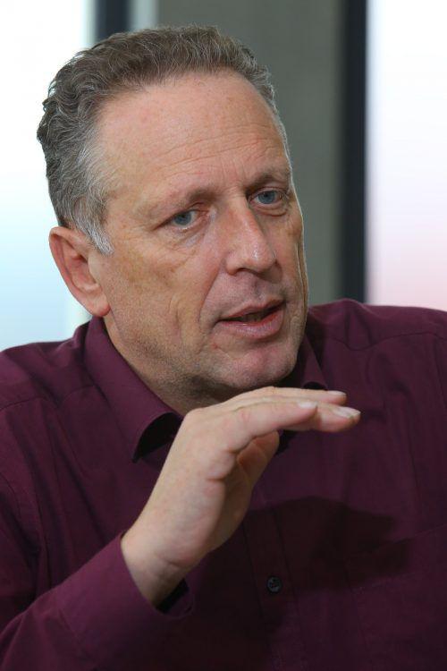 """""""Ich befürchte, dass nach den Landtagswahlen 2018 Einschnitte im Sozialsystem kommen.""""Hubert HämmerleAK-Präsident in den VN an die Adresse der schwarzblauen Bundesregierung"""