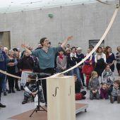 Sänger, Musiker und Autoren bescheren Kunsthaus-Erlebnisse