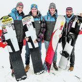 Snowboard-Asse kündigen Vollgas an