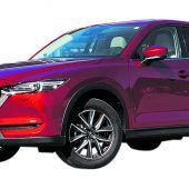 Mazda CX-5 aufgewertet