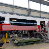 Bereits neun Züge im Testbetrieb
