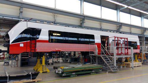 Die neuen Garnituren für Vorarlberg werden in Berlin gebaut.