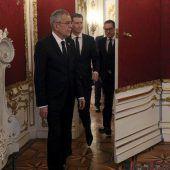 Minister erklärten sich dem Präsidenten