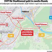 Wichtige Entscheidungen für Stadttunnel