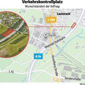 Asfinag darf in Lauterach Kontrollplatz bauen
