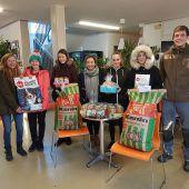 Schüler spendeten für Tierheim