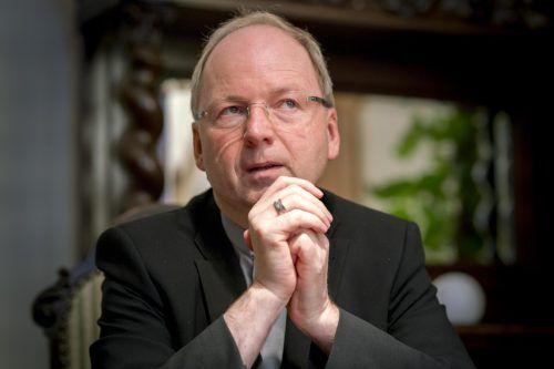 Bischof Benno Elbs soll bei der Visitation der Diözese Gurk-Klagenfurt Hilfestellung leisten. VN/Stiplovsek