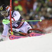 Marcel Hirscher gewinnt in Madonna Slalom-Klassiker und ist Weltcup-Leader. C1