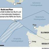 Grenzstreit um Bucht von Piran eskaliert
