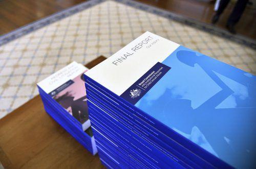 Für den Abschlussbericht wurden mehr als 1,2 Millionen Dokumente gesichtet. Ap