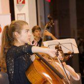 Großer Auftritt für junge Musikerin