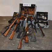 Illegal Waffen nach Vorarlberg verkauft