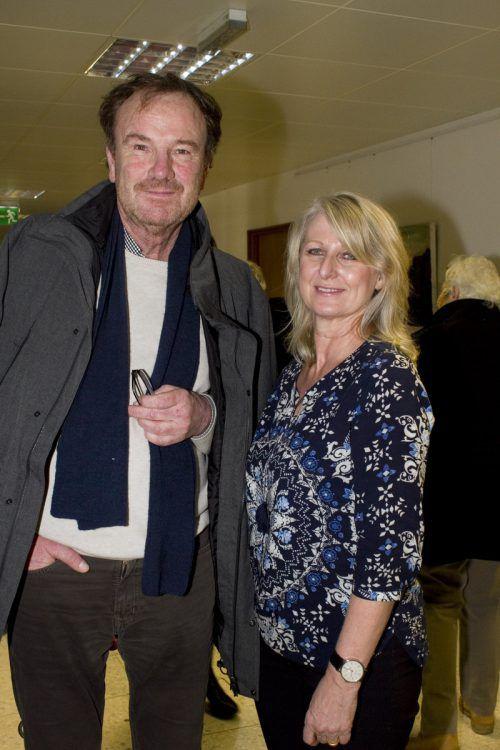 Hubert Gopp (ARTelier Vorderland) und Susanne Rauch-Zehetner (WKV). FRANC