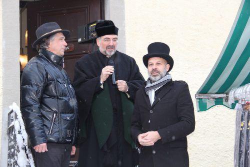 """Im """"alta Hees"""" wurde der Markt nach der Messe offiziell eröffnet."""
