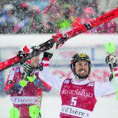 Hirscher sprang von Rang acht zum Sieg