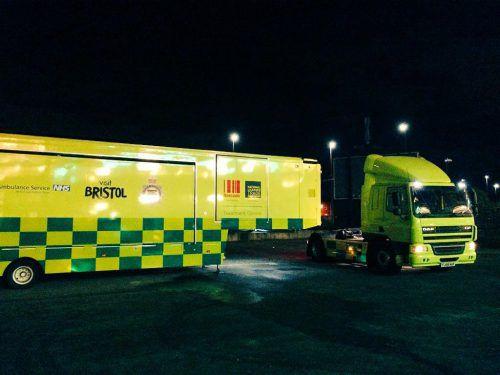 In Newcastle, Bristol, Manchester und Cardiff sind die Spezial-Lkw bereits im Einsatz.