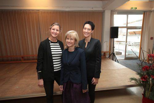Katarina Rankovic, Regine Mathies und Ulla Hefel Böhler (v.l.).