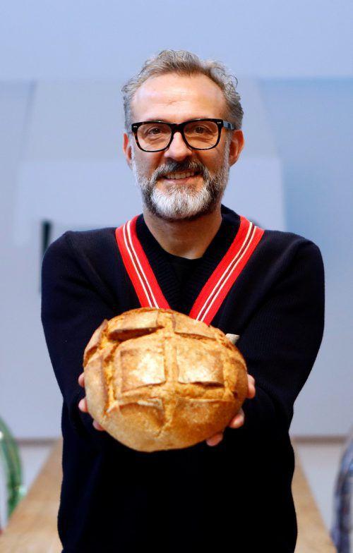 Massimo Bottura gilt als einer der besten Köche der Welt. RTS