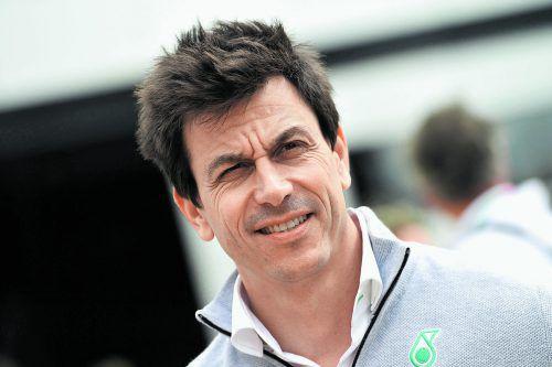 Mercedes-Teamchef Toto Wolff: 2017 ist der Formel 1 eine Image-Wende gelungen. apa