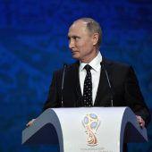 Putin verzichtet auf Besuch bei Olympia