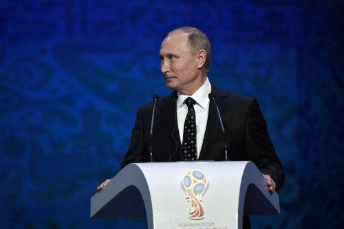Nach dem Ausschluss Russlands verzichtet Putin auf einen Besuch in Südkorea.AP