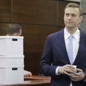 Kreml nimmt Nawalny in die Zange
