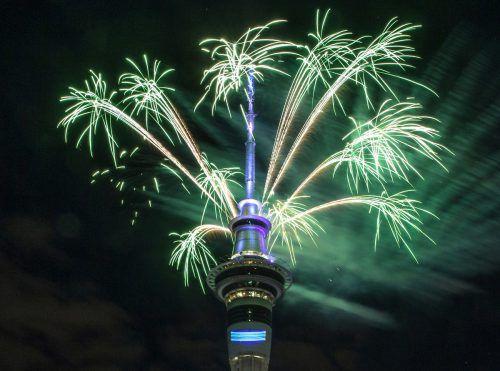 Neuseeland startet nachSamoa und der Weihnachtsinsel zuerst ins neue Jahr.