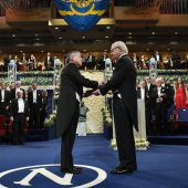 Nobelpreisverleihung mit Mahnung