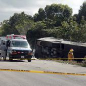 Zwölf Tote bei Unglück mit Touristenbus in Mexiko