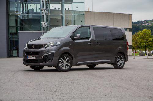 Praktisch, komfortabel wie ein Pkw und mit einer Designauszeichnung (RedDot) geadelt: Peugeot Traveller Business.vn/Steurer