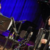 Wettbewerbssieger mit Klarinette und Akkordeon