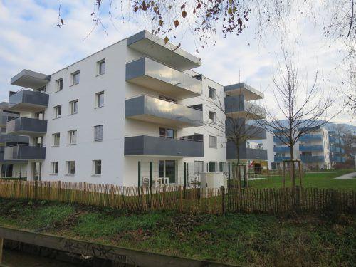 Privater und gemeinnütziger Wohnungsbau wird in größeren Anlagen immer öfter Realität. HA