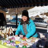 Stimmungsvolles Markttreiben in Bartholomäberg