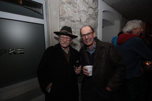 Rigobert Diem (GBD-ZT) und Architekt Bernhard Bügelmayer.