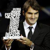 Award für Federer in Großbritannien