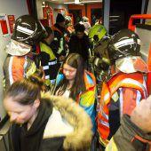 Regionalzug wegen Bremsdefekt evakuiert