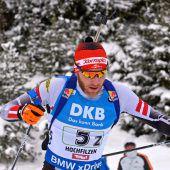 Biathlonstaffel mit Debakel beim Heim-Weltcup